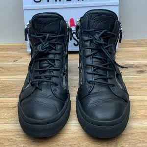 Giuseppe Zanotti High Top Sneaker black